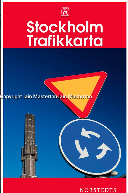 Stockholm traffic map cover