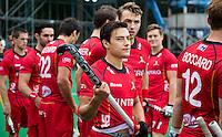 ANTWERP -    Thomas Briels before the match of the men  Belgium v China.  WSP COPYRIGHT KOEN SUYK