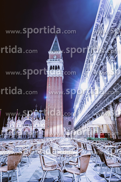 THEMENBILD - Markusturm am Markusplatz (Piazza San Marco), aufgenommen am 05. Oktober 2019 in Venedig, Italien // the Campanile di San Marco at the Piazza San Marco in Venice, Italy on 2019/10/05. EXPA Pictures © 2019, PhotoCredit: EXPA/ JFK