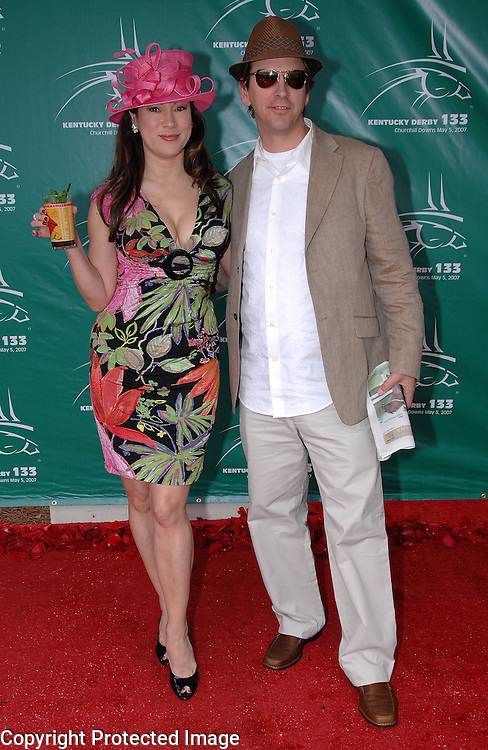 Jennifer Tilley (Actress/Pro Poker Player) and Phil Laak (Pro Poker Player)
