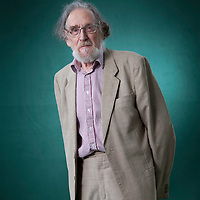 Frank Bechhofer, emeritus professor at Edinburgh University, at the Edinburgh International Book Festival 2015.<br /> Edinburgh, Scotland. 26th August 2015 <br /> <br /> Photograph by Gary Doak/Writer Pictures<br /> <br /> WORLD RIGHTS
