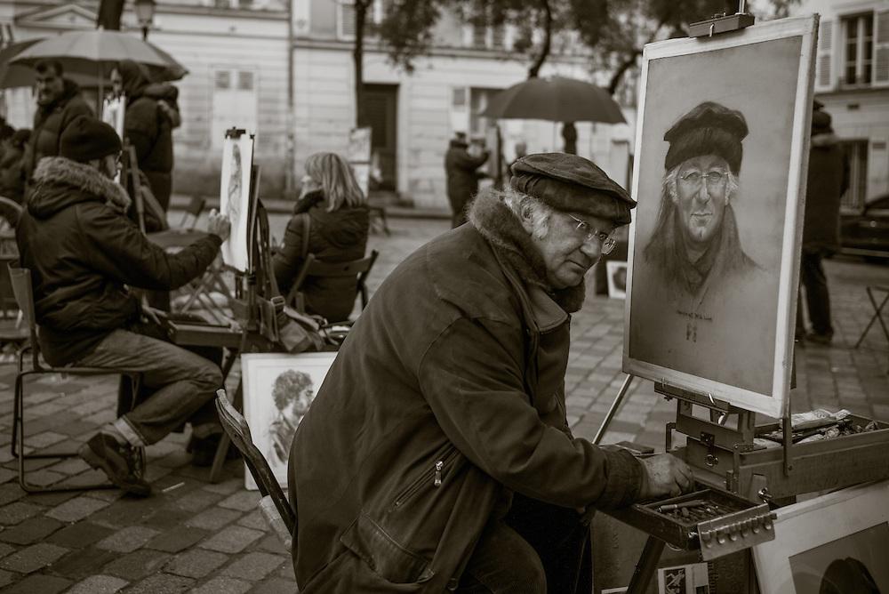 Artist, Montmartre. Paris, France.