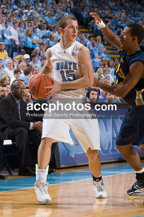 22 December 2007: North Carolina Tar Heels guard J.B. Tanner (15) during a 105-70 win over the University of California Santa Barbara Gauchos at the Dean Smith Center in Chapel Hill, NC.