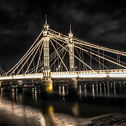 "Nicknamed ""The Trembling Lady"" because of its tendency to vibrate when large numbers of people walked over it, the Albert Bridge has signs at its entrances that warned troops to break step whilst crossing the bridge. True story that!"