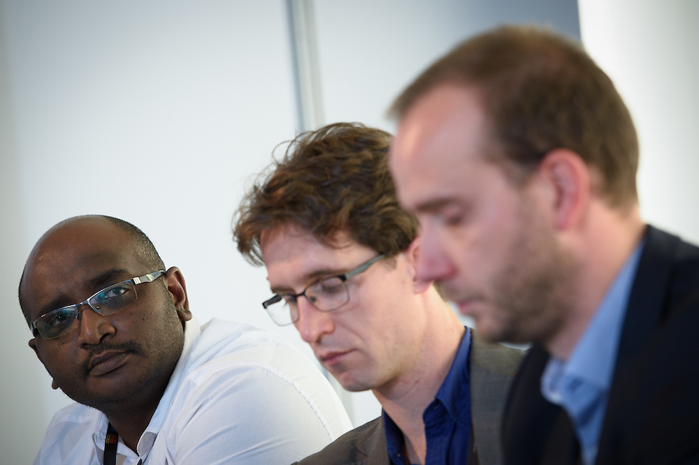 03 June 2015 - Belgium - Brussels - European Development Days - EDD - Health - Bekou - Restoring basic health services in the Central African Republic after the crisis - Ahmed Abdelrahman ,<br /> Deputy Coordinator of Operations, M&eacute;decins Sans Fronti&egrave;res Belgium&copy; European Union