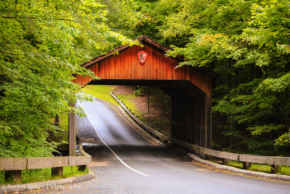 &quot;Covered Bridge on Pierce Stocking Drive&quot;<br />