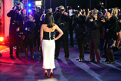 Olivia Munn attends The World Premiere of 'Robocop' UK film premiere, BFI IMAX, London, United Kingdom. Wednesday, 5th February 2014. Picture by Nils Jorgensen / i-Images