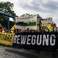 17 Identitären Demo Berlin und Gegenproteste