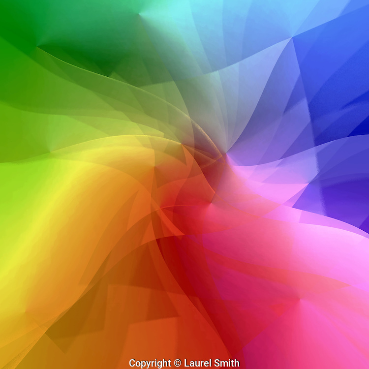 Lightwaves #7 ~ The energy of creation, lightwaves dancing on the subtle realms of consciousness and the material world - awakening and evolving consciousness.<br /> <br /> &copy; Laurel Smith
