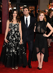 Rachel Weisz, Sam Claflin and Holliday Grainger attending the world premiere of My Cousin Rachel, held at Picturehouse Central Cinema in Piccadilly, London. Photo Copyright should read Doug Peters/EMPICS Entertainment