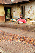 Prince is an Agricultural Extension Youth Volunteer,  who speaks to young people about the potential cocoa farming has to offer them a secure livelihood...He passes on what he has already learnt through the Cadbury Cocoa Partnership and soon he will begin hosting training sessions at a new demonstration garden, which has been designed so that young people can learn about cocoa farming techniques and to encourage an enthusiasm for the industry.