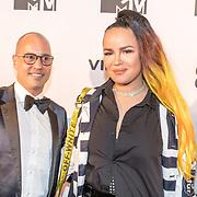 NLD/Amsterdam/20171106 - MTV Pre party 2017, Eva Simons en ...........