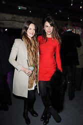 Left to right, ARABELLA MUSGRAVE and CAROLINE SIEBER at the launch party for the new nightclub Public at 533 Kings Road, London on 2nd December 2010.