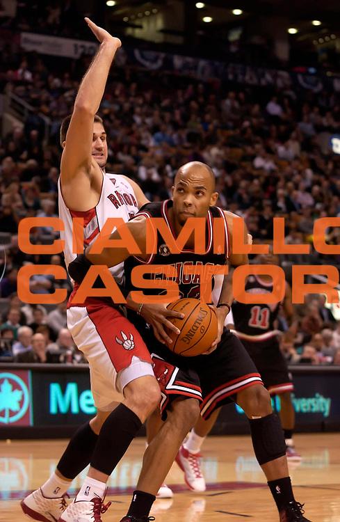 DESCRIZIONE : Toronto NBA 2010-2011 Toronto Raptors Chicago Bulls<br /> GIOCATORE : Taj Gibson<br /> SQUADRA : Toronto Raptors Chicago Bulls<br /> EVENTO : Campionato NBA 2010-2011<br /> GARA : Toronto Raptors Chicago Bulls<br /> DATA : 15/12/2010<br /> CATEGORIA :<br /> SPORT : Pallacanestro <br /> AUTORE : Agenzia Ciamillo-Castoria/V.Keslassy<br /> Galleria : NBA 2010-2011<br /> Fotonotizia : Toronto NBA 2010-2011 Toronto Raptors Chicago Bulls<br /> Predefinita :