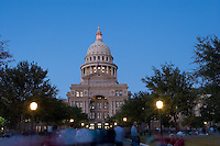 NIght View, Texas State Capitol, Austin, Texas