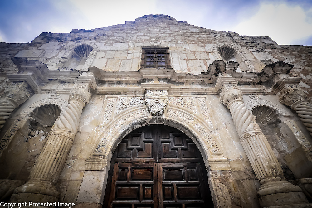 The Alamo, former mission and crossroads of Texas history