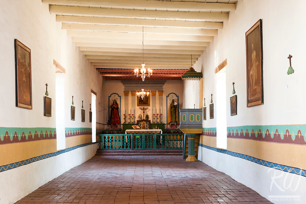 Sonoma Mission (San Francisco Solano) Chapel, Sonoma, California