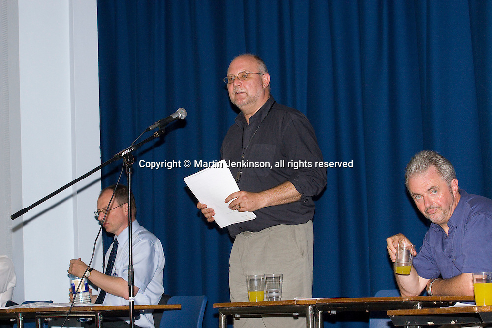 Andy Kent, Cheshire CC Schools Liaison; Bill Greenshields, NUT Vice President; Campbell Russell, NUT Sutton High School...© Martin Jenkinson, tel 0114 258 6808 mobile 07831 189363 email martin@pressphotos.co.uk. Copyright Designs & Patents Act 1988, moral rights asserted credit required. No part of this photo to be stored, reproduced, manipulated or transmitted to third parties by any means without prior written permission
