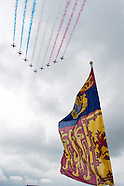 Trooping the Colour 2014 RAF Fly Past