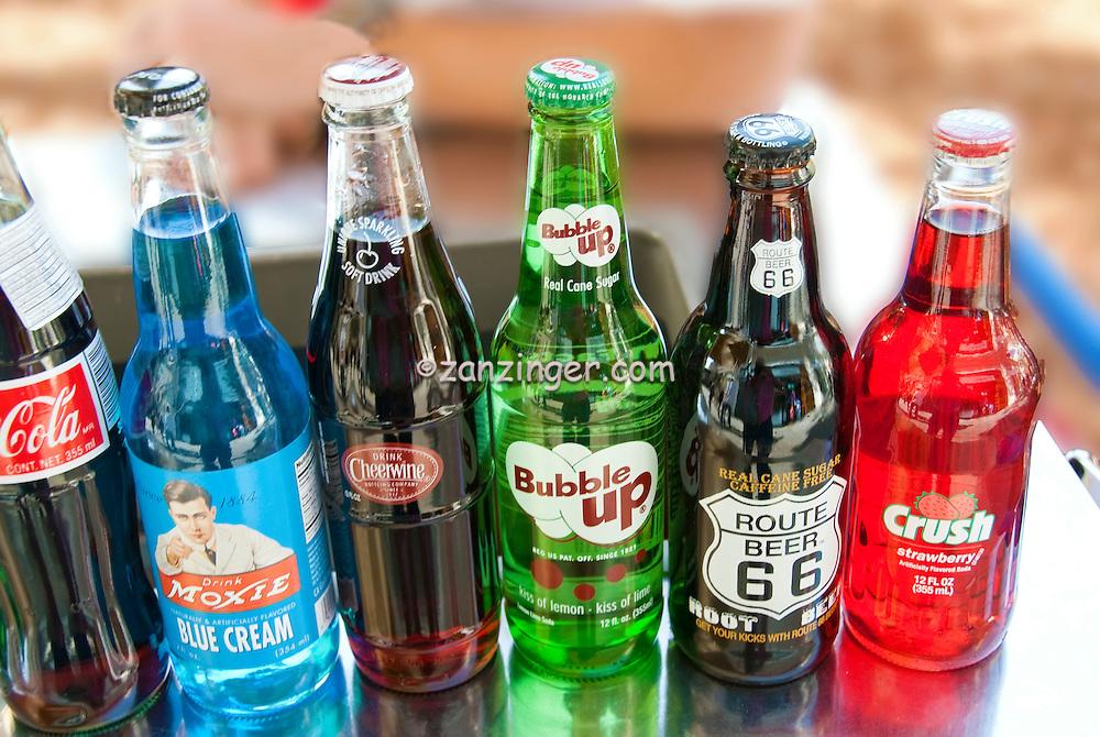 Vintage Soda Bottle Brands Labels Pop And Soft Drinks 1950s Crush