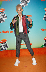 March 23, 2019 - Los Angeles, CA, USA - LOS ANGELES, CA - MARCH 23: Frankie J. Grande attends Nickelodeon's 2019 Kids' Choice Awards at Galen Center on March 23, 2019 in Los Angeles, California. Photo: CraSH for imageSPACE (Credit Image: © Imagespace via ZUMA Wire)