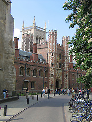 St. John's College, University of Cambridge, Cambridge, England