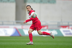 LLANELLI, WALES - Thursday, March 31, 2011: Turkey's captain Didem Karagenc? in action against Iceland during the UEFA European Women's Under-19 Championship Second Qualifying Round (Group 3) match at Parc Y Scarlets. (Photo by David Rawcliffe/Propaganda)