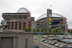 September 12, 2010; Seattle, WA, USA;  General view of Qwest Field before the game between the Seattle Seahawks and the San Francisco 49ers.
