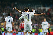 Arbeloa greetings to Cristiano Ronaldo for the hat trick