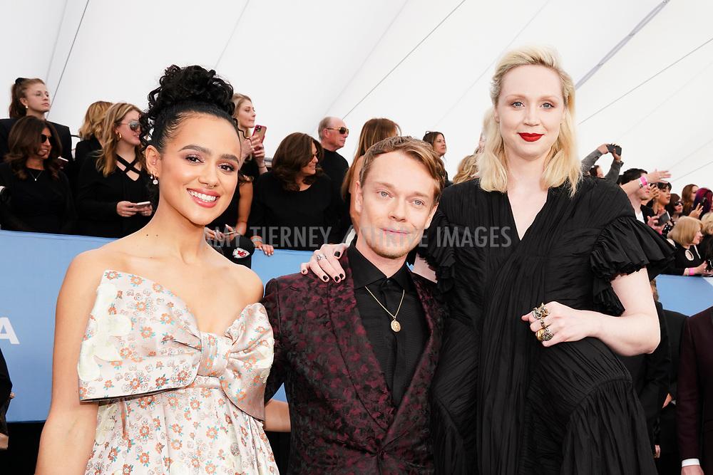 Nathalie Emmanuel, Alfie Allen, Gwendoline Christie