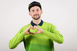 Jakov Fak during the outfitting of the Slovenian Olympic Team for PyeongChang 2018, on January 29, 2018 in GH Union, Ljubljana, Slovenia. Photo by Urban Urbanc / Sportida