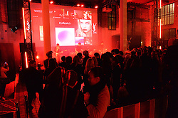Atmosphere at the YSL Beauty: YSL Loves Your Lips party held at The Boiler House,The Old Truman Brewery, Brick Lane,London on 20th January 2015.