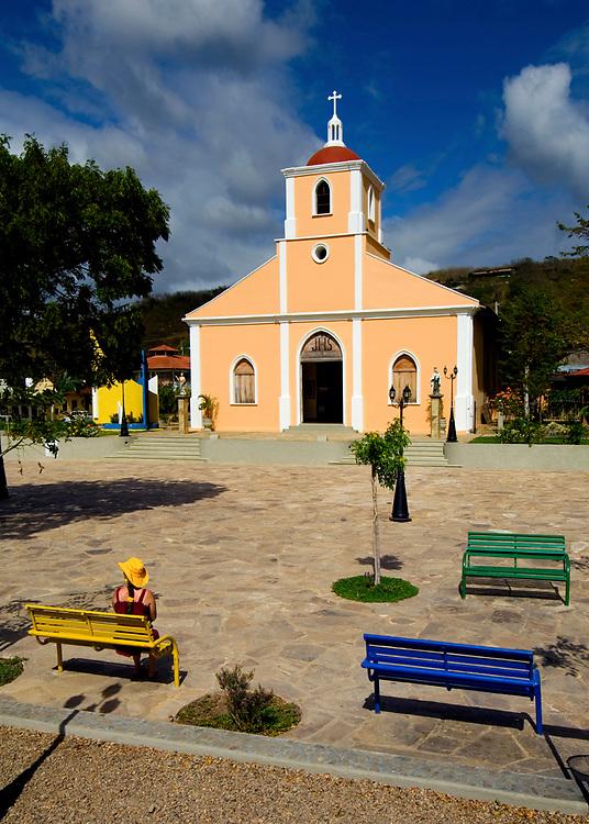 Nicaragua / San Juan Del Sur / Church / Park