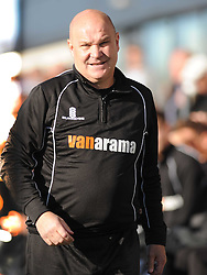 Richard Hill Manager Eastleigh FC, Barnet v Eastleigh, Vanarama Conference, Saturday 4th October 2014