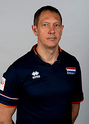 14-05-2018 NED: Team shoot Dutch volleyball team men, Arnhem<br /> Assistent coach Claudio Gewehr