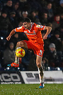 Jonathan Smith of Luton Town during the Sky Bet League 2 match at Adams Park, High Wycombe<br /> Picture by David Horn/Focus Images Ltd +44 7545 970036<br /> 26/12/2014