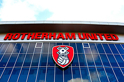 A general view of the Aesseal New York Stadium, home to Rotherham United - Mandatory by-line: Ryan Crockett/JMP - 16/02/2019 - FOOTBALL - Aesseal New York Stadium - Rotherham, England - Rotherham United v Sheffield Wednesday - Sky Bet Championship
