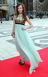 Olivia Grant  arriving at the Women for Women International Gala in London, Thursday, 3rd May 2012. Photo by: Stephen Lock / i-Images