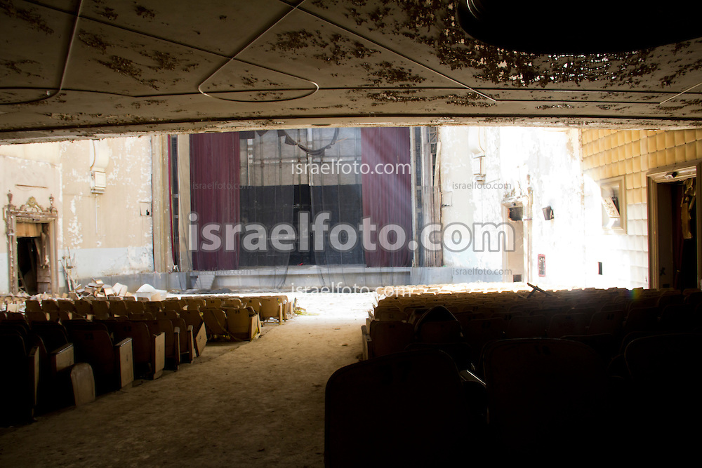 Abandoned cinema named Cine Opera. Mexico City, 2011
