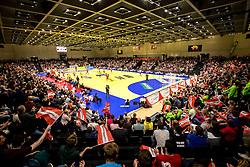 28.10.2018, Raiffeisen Sportpark, Graz, AUT, EHF, Euro Cup, Österreich vs Schweden, im Bild die Halle // during the EHF Euro Cup Match between Austria and Sweden at the Raiffeisen Sportpark, Graz, Austria on 2018/10/28. EXPA Pictures © 2018, PhotoCredit: EXPA/ Sebastian Pucher
