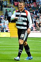 Fotball<br /> Darlington v Newcastle<br /> 18.07.2009<br /> Foto: Colorsport/Digitalsport<br /> NORWAY ONLY<br /> <br /> Pre Season Friendly Darlington vs Newcastle United at the Darlington arena. Dean Windass (Darlington)