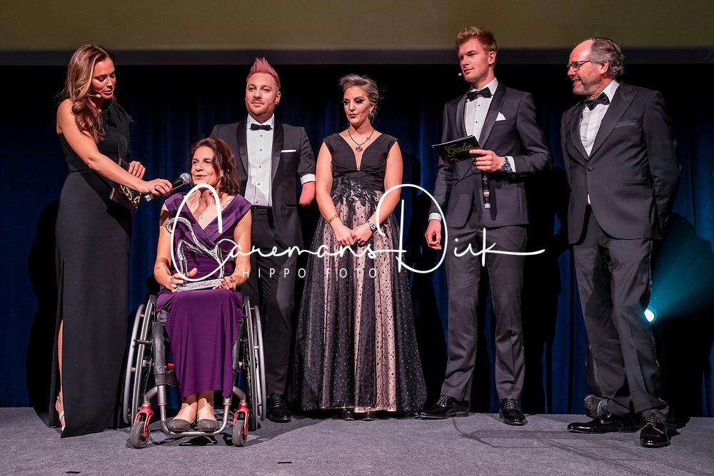 Equi Gala, Prijs van de jury, Para Dressage Team, Minneci Barbara, Van Ham Kevin, Claeys Manon, Van Haegenborgh Walter<br /> Equigala - Brussel 2020<br /> © Hippo Foto - Dirk Caremans<br /> 21/01/2020