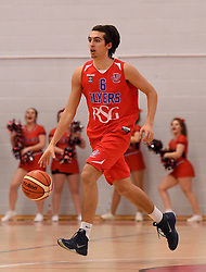 Tom Tinsley of Bristol Flyers - Photo mandatory by-line: Paul Knight/JMP - Mobile: 07966 386802 - 30/01/2016 - BASKETBALL - SGS Wise Arena - Bristol, England - Bristol Flyers v Leeds Force - British Basketball League