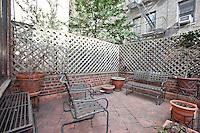 Patio Garden at 267 West 71st Street
