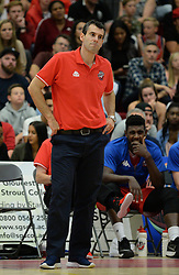 Andreas Kapoulas head coach of Bristol Flyers - Photo mandatory by-line: Dougie Allward/JMP - 17/09/2016 - BASKETBALL - SGS Wise Arena - Bristol, England - Bristol Flyers v Worcester Wolves - Exhibition Game