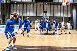 Zan Mark Sisko of KK Sixt Primorska  during basketball match between Basketball - KK Petrol Olimpija Ljubljana and KK Sixt Primorska in Round #7 of Liga Nova KBM za prvaka 2018/19, on April 11th, 2019 in Hala Tivoli, Slovenia Photo by Matic Ritonja / Sportida
