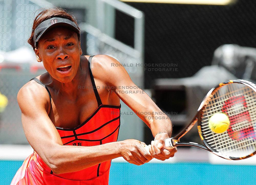 14-05-2010 TENNIS: ATP MADRID OPEN: MADRID<br /> Venus Williams <br /> &copy;2010- FRH nph / Alex Cid-Fuentes