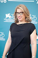 Venice, Italy, 30th August 2019, Director Lauren Greenfield at the photocall for the film The Kingmaker at the 76th Venice Film Festival, Sala Grande. Credit: Doreen Kennedy/Alamy Live News