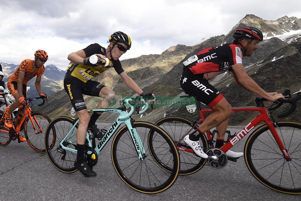 June 16, 2017 - Zernez / Solden, Suisse / Autriche - Solden, Austria - June 16 : CARUSO Damiano (ITA) Rider of BMC Racing Team, KRUIJSWIJK Steven (NED) Rider of Team Lotto NL - Jumbo during stage 7 of the Tour de Suisse cycling race, a stage of 160 kms between Zernez and Solden on June 16, 2017 in Solden, Austria, 16/06/2017 (Credit Image: © Panoramic via ZUMA Press)