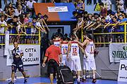DESCRIZIONE : 5° International Tournament City of Cagliari Olympiacos Piraeus Pireo - Galatasaray<br /> GIOCATORE : Olympiacos Piraeus Pireo Team<br /> CATEGORIA : Tifosi Pubblico Spettatori Postgame Ritratto Esultanza<br /> SQUADRA : Olympiacos Piraeus Pireo<br /> EVENTO : 5° International Tournament City of Cagliari<br /> GARA : Olympiacos Piraeus Pireo - Galatasaray Torneo Città di Cagliari<br /> DATA : 18/09/2015<br /> SPORT : Pallacanestro <br /> AUTORE : Agenzia Ciamillo-Castoria/L.Canu